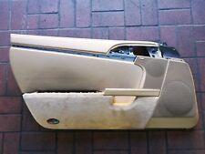 Porsche 911 997 987 Boxster Cayman Türverkleidung LEDER LINKS BEIGE 987555101