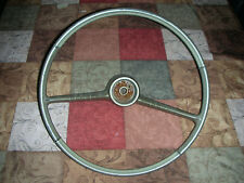 1960 -1964 Chevrolet Corvair Monza Steering Wheel Gold In Color