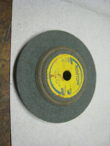 SILICON CARBIDE GRINDING WHEEL GREEN WHEEL 6""