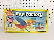 Vintage 1987 Kenner Play Doh Fun Factory INCOMPLETE - Plus Additional Parts
