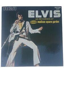 ELVIS PRESLEY vinyle 33 tours  RCA 443045..MADISON SQUARE GARDEN