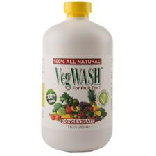 VegWASH Scented Organic Fruit & Vegetable Wash / Rinse Concentrate (case)