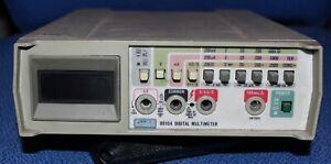 FLUKE BENCH MULTIMETER MODEL 8010 A