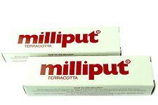 2 Packs Terracotta Milliput Epoxy Putty Modelling Filler Ceramic Repair X1016a