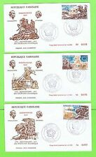 First Day Cover Gabonese Stamps