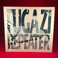 FUGAZI Repeater 1990 Vinyl LP + INNER + INSERT Excellent Condition original