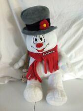 "Frosty The Snowman Stuffed Animal Plush 18"" Christmas Build a Bear"