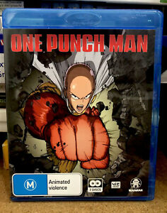 One Punch Man Blu-ray Region B 2Mint Discs LIKE NEW Fast Track Post🇦🇺Seller