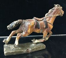 Vintage Lineol Germany World War One Brown Horse