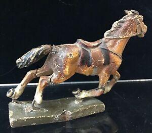 Vintage Lineol Germany World War One Brown Horse