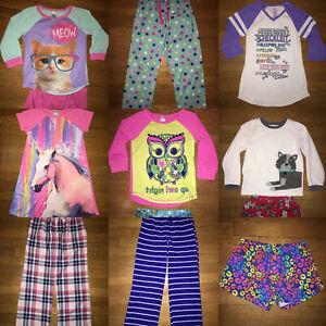 *build your own huge lot girls pj pajamas robe GAP old navy children place 7 - 8
