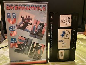 Breakdance: USA by King of Video and Alan Burstyn, 1983. Ex-rental VHS video.