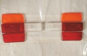 Set Plastic Lights Rear Fiat 131 Mirafiori New Original