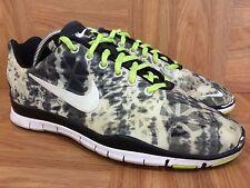 RARE!💃 Nike Free TR Fit 3 PRT Lunar Smoke Cheetah Print Sz 7 555159-008 USED🔥