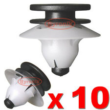 VOLVO PLASTIC TRIM CLIPS INTERIOR DOOR BOOT PANELS COVERS PILLAR FASCIA SILL X10