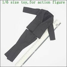 L41-17 1/6 scale Black vertical stripes suit ( Suitable for the stronger body )