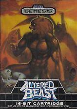 Altered Beast, (SEGA Genesis)