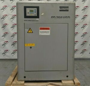 Used Atlas Copco 750 CFM VSD Refrigerated Air Dryer Water Cooled FD750WVSD
