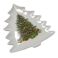 Martha Stewart Holiday Garden Ceramic Christmas Tree Plate