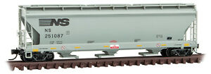 Micro-Trains MTL N-Scale 3-Bay CF Covered Hopper Norfolk Southern/NS #251087