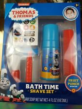 Thomas & Friends Bath Time Shave Set NEWFruit Punch Scented Age 3+