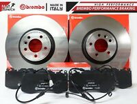 FOR LAND ROVER RANGE ROVER SPORT 13- FRONT GENUINE BREMBO BRAKE DISCS PADS 380mm