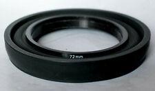 Hoya 72mm rubber lens hood.