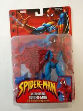 MARVEL SPIDER-MAN CATAPULTING SPIDER-MAN W/ WEB SWINGING ACTION TOYBIZ 2002 NIP