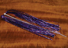Purple Haze Holographic Bright krystal flash fly tying winging material
