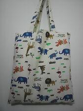 Cotton Canvas Tote Shopping Handbag Shoulder Cute Bag Women Girls Purse-Animals