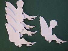 5 Stanzteile sitzender Engel, Give Aways, Kartengestaltung, Tischkarte