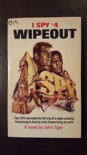 "John Tiger, ""I Spy #4: Wipeout,"" 1967, Popular Library 60-2180, VG, 1st"