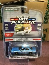 Greenlight 1:64 Hot Pursuit Ford Crown Victoria Seattle Washington Police