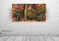 Großes Acryl Gemälde XXL Modern CHP 919 Handgemalt Bild Kunst Abstrakt 160x90cm