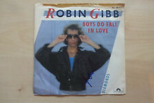 "Robin Gibb ""Bee Gees"" Autogramm signed 18x18 cm Single ""Boys Do Fall In Love"""