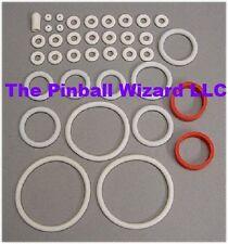 Wizard Pinball Machine White Rubber Ring Kit - 1975 Bally
