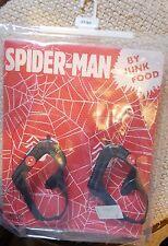 NEW! Junk Food Baby Gap Sz 5 Toddler Spiderman Superhero Sandals Boy Flip Flops