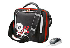 BRAND NEW TRUST 17299 PIRATE NETBOOK TABLET NOTEBOOK BAG WITH MATCHING MOUSE