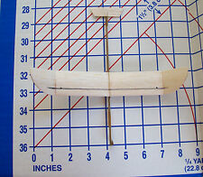 Michigan Condor 3/8 Pint Balsa glider  hand or catapult launch kit laser cut