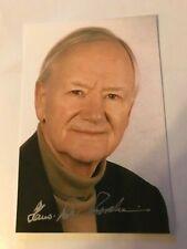 Hans Peter Porsche orig. Autogramm