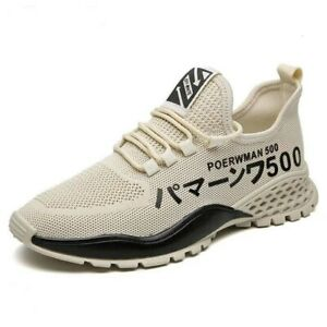 Mens Casual Lace up Lightweight Trainers Breathable Running Sport Sneaker Shoes