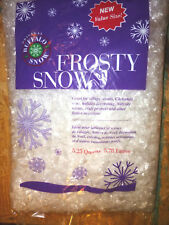 Buffalo Snow Frosty Snow 5-1/4 Qts for Christmas Trees Village Displays, etc NEW