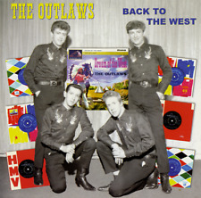 THE OUTLAWS - BACK TO THE WEST  - BRITISH ROCK 'N' ROLL / INSTRUMENTAL CD-LISTEN