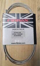 Fibrax bicicletta in acciaio inox Cavo Ingranaggio TANDEM-XL/Bici da carico 3050 mm - 1.2 mm