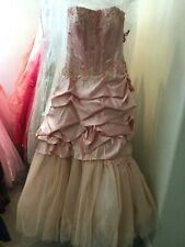 Private Collection prom pageant quinceanera ball gown Corset lace up dress 10