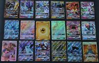 carte pokemon gx ,full art,holo  gardiens ascendants, lune et soleil ultra rare