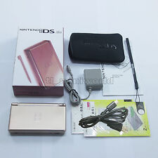 Brand New Metallic Rose Nintendo DS Lite HandHeld Console System + gifts