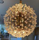Vintage+Mid-Century+Modern+Emil+Stejnar+Starburst+Crystal+Hanging+Penchant+Lamp