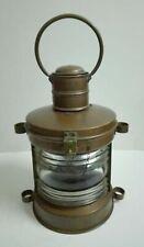 Large Maritime Copper Boat Lantern