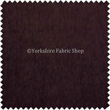 Liso Con Textura Color Púrpura Suave Felpilla Tapicería Cortinas Tejido